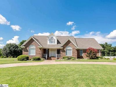 Boiling Springs Single Family Home Contingency Contract: 256 Mountain Range
