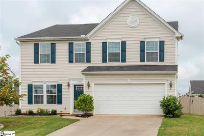 Simpsonville Single Family Home For Sale: 102 Young Harris