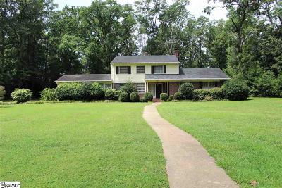 Anderson Single Family Home For Sale: 1321 N Boulevard