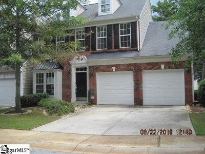 Greenville County Condo/Townhouse For Sale: 6 Pelham Townes
