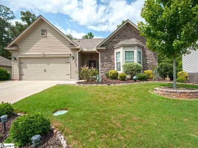 Fountain Inn Single Family Home Contingency Contract: 508 Crest Hill