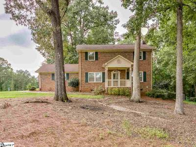 Inman Single Family Home For Sale: 125 Chestnut Lake