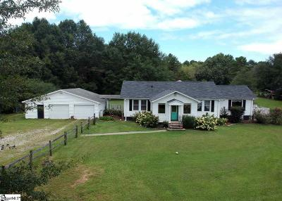 Travelers Rest Single Family Home For Sale: 441 A Langley