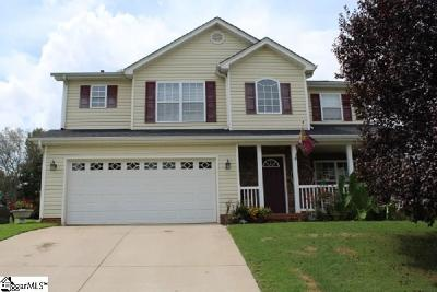 Greer Single Family Home For Sale: 39 Rustcraft