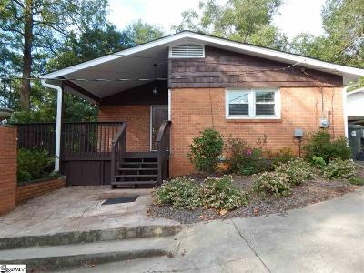 Greenville County Single Family Home For Sale: 263 Mohawk