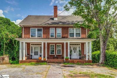 Greenville Single Family Home For Sale: 805 Augusta