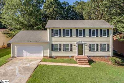 Greenville County Single Family Home For Sale: 220 Hedgewood