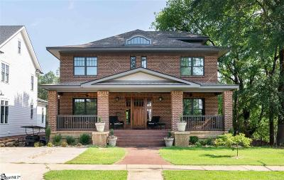 Greenville Single Family Home For Sale: 4 W Earle