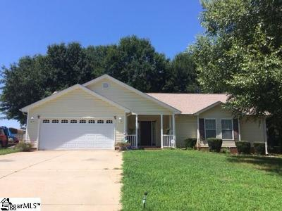 Inman Single Family Home For Sale: 235 Bethany