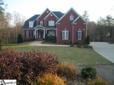 Spartanburg Single Family Home For Sale: 32 Muirfield