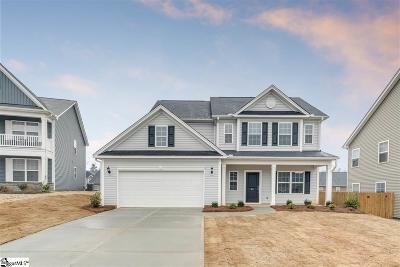 Simpsonville SC Single Family Home For Sale: $254,144