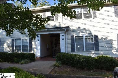 Greenville County Condo/Townhouse For Sale: 925 Cleveland #Unit # 1