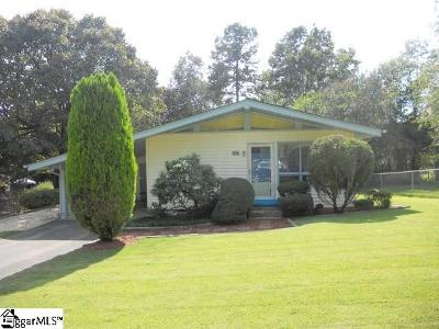 Easley Single Family Home For Sale: 129 Excelsior