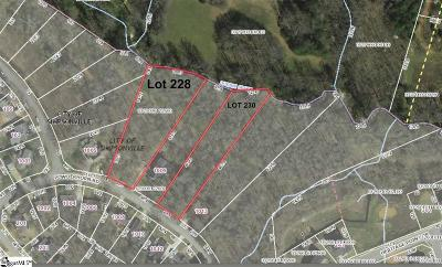Simpsonville Residential Lots & Land For Sale: 1007 Powderhorn
