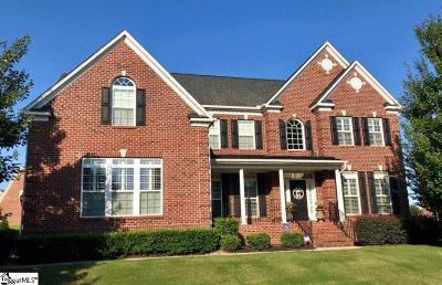 Simpsonville Single Family Home For Sale: 224 Highgrove