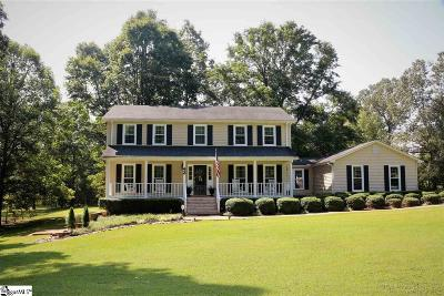 Travelers Rest Single Family Home Contingency Contract: 43 Glen Springs
