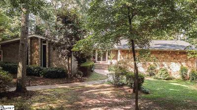 Clemson Single Family Home For Sale: 112 Hazelwood