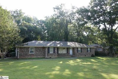 Mauldin Single Family Home Contingency Contract: 117 Lanier