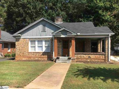 Greenville Single Family Home For Sale: 11 E Blue Ridge