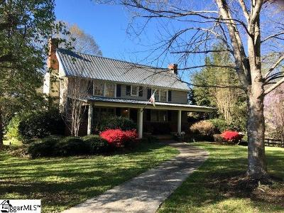 Travelers Rest Single Family Home For Sale: 178 Old Boswell
