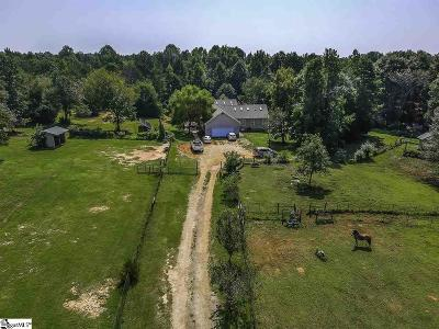 Woodruff Single Family Home For Sale: 540 Wofford