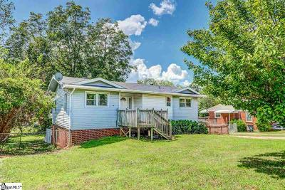 Greenville Single Family Home Contingency Contract: 125 Monaview