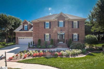 Greenville Single Family Home For Sale: 211 Green Arbor
