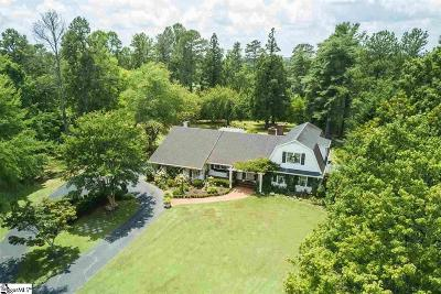 Easley Single Family Home For Sale: 114 Zion Church