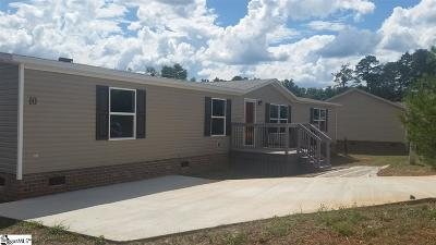 Greenville County Mobile Home For Sale: 10 Langleaf