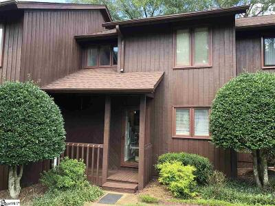 Greenville County Condo/Townhouse For Sale: 7 Creekside