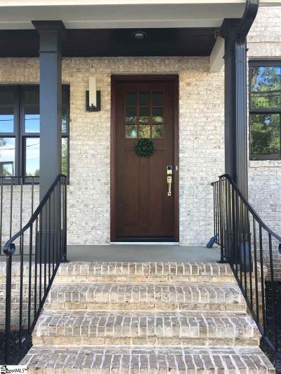 Greenville Condo/Townhouse For Sale: 104 N Leach
