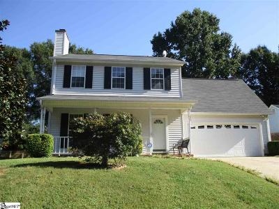 Simpsonville Single Family Home Contingency Contract: 114 W Fall River