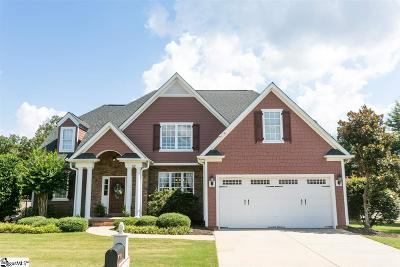 Greer Single Family Home For Sale: 100 Cayanne