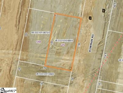Hartness Residential Lots & Land For Sale: 25 Bowman