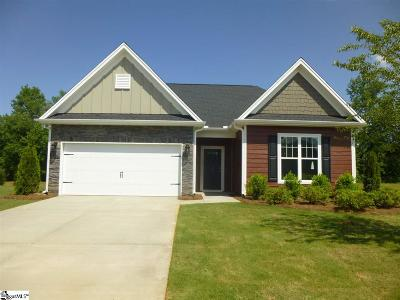 Boiling Springs Single Family Home For Sale: 116 Broadleigh #Lot 47