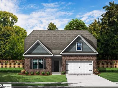 Boiling Springs Single Family Home For Sale: 209 Cassingham #Lot 2
