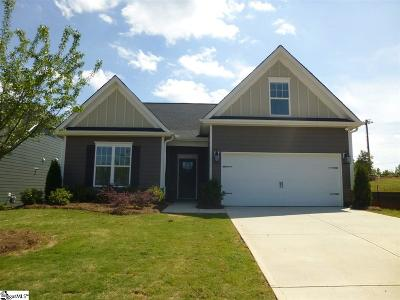 Boiling Springs Single Family Home For Sale: 213 Cassingham #Lot 3