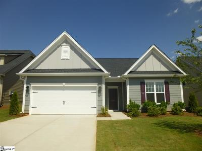 Boiling Springs Single Family Home For Sale: 128 Broadleigh #Lot 44