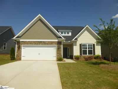 Boiling Springs Single Family Home For Sale: 124 Broadleigh #Lot 45