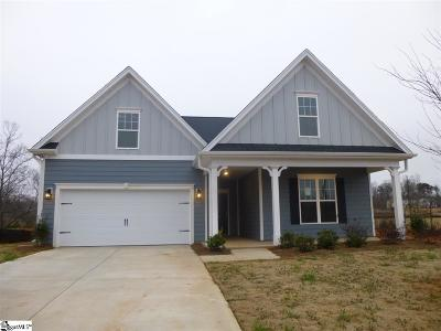 Boiling Springs Single Family Home For Sale: 140 Broadleigh #Lot 41