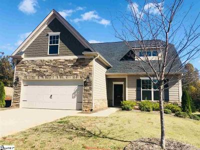 Boiling Springs Single Family Home For Sale: 132 Broadleigh #Lot 43