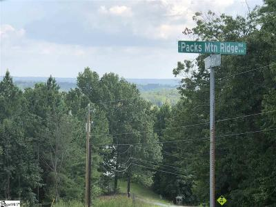 Taylors Residential Lots & Land For Sale: Packs Mountain Ridge