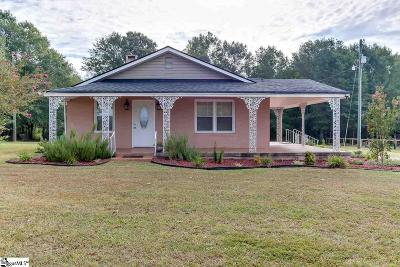 Pelzer Single Family Home Contingency Contract: 2161 Reedy Fork