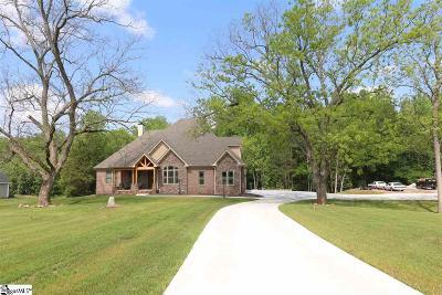 Simpsonville Single Family Home For Sale: 1875 Jones Mill