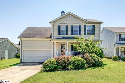 Simpsonville Single Family Home For Sale: 215 Morell