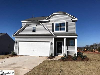 Easley Single Family Home For Sale: 600 Marble #Lot 187