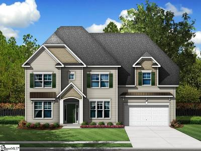 Simpsonville Single Family Home For Sale: 9 Lakeway #Homesite