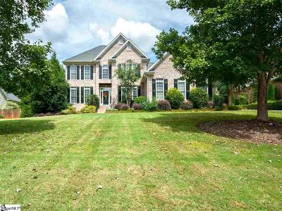 Simpsonville Single Family Home Contingency Contract: 27 Sycamore Ridge