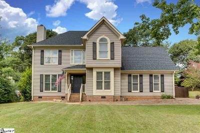 Simpsonville Single Family Home Contingency Contract: 116 Spring Lake