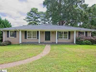 Anderson Single Family Home For Sale: 113 Twin Lakes